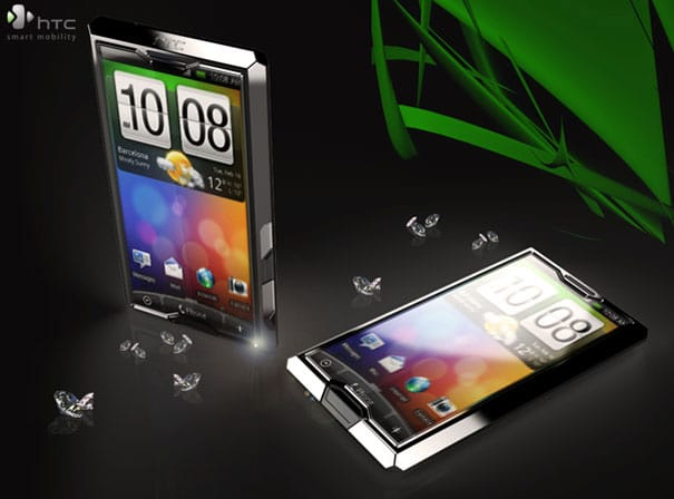 HTC Android Diamond 3: The Bling That Will Blind You!
