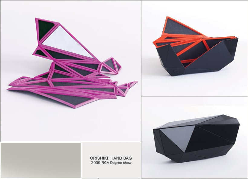 Amazing Plastic Origami Hand-Bags, Suitcases And More…