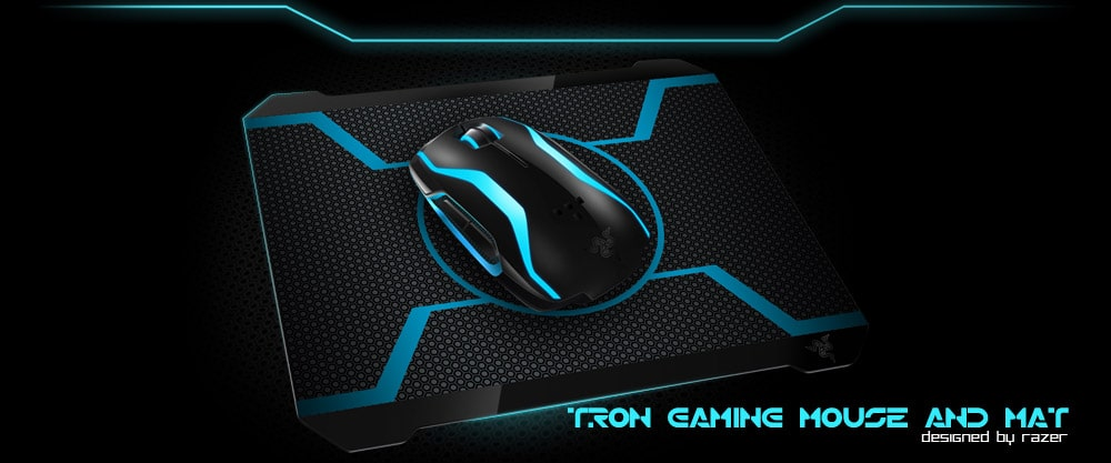 TRON Mouse: A Must See Branded Light Path Gadget!