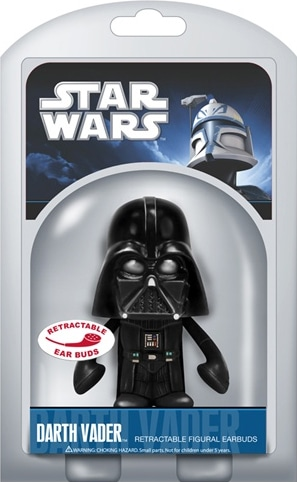 Lovable Star Wars Retractable Earbuds