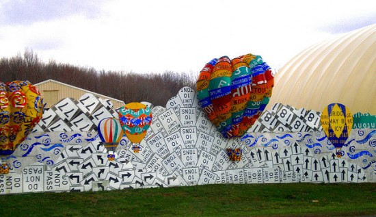 Recycled Road Signs: The Landmark Artwork In Meadville