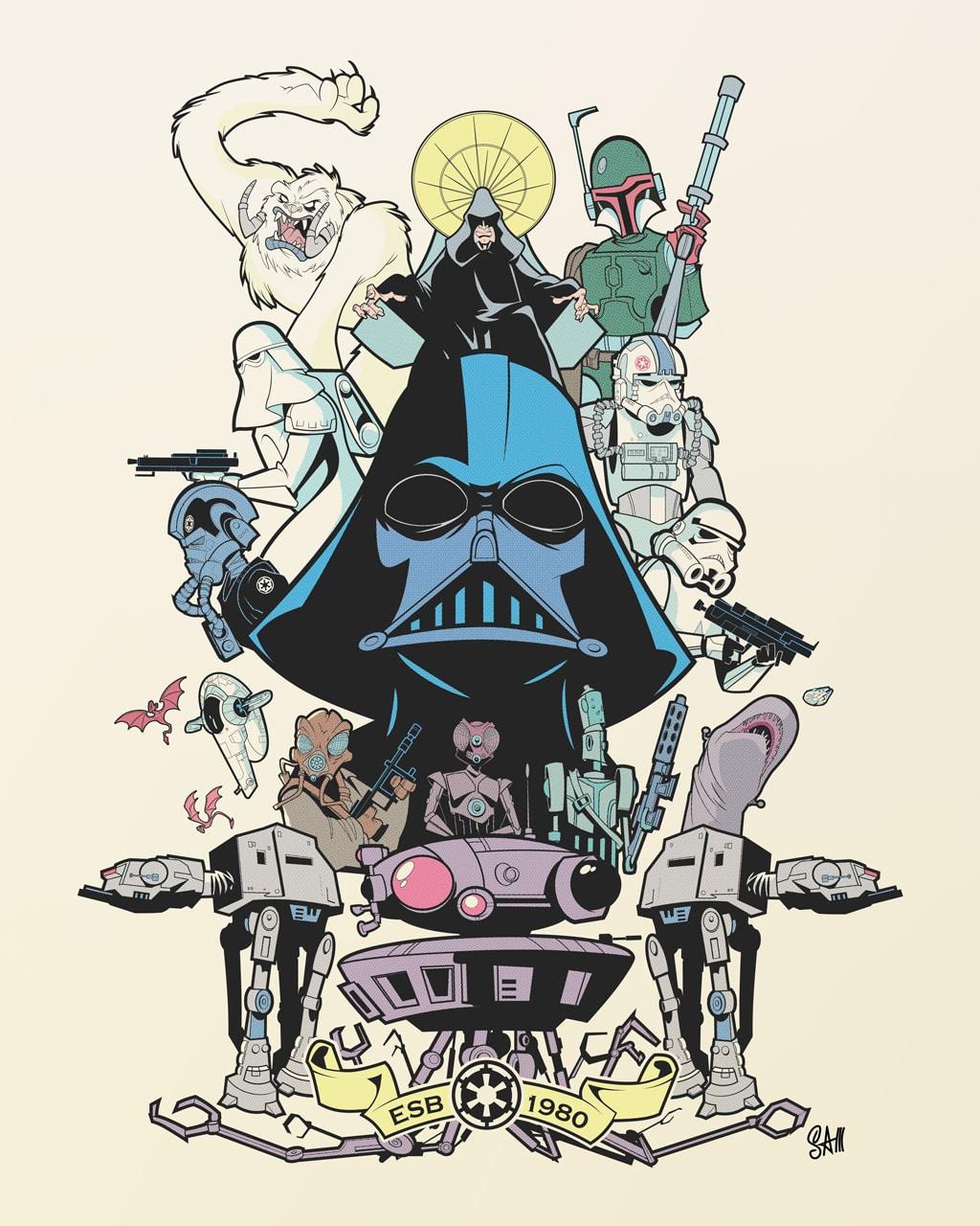 Retro Cartoons: Star Wars And Indiana Jones Awesomeness!
