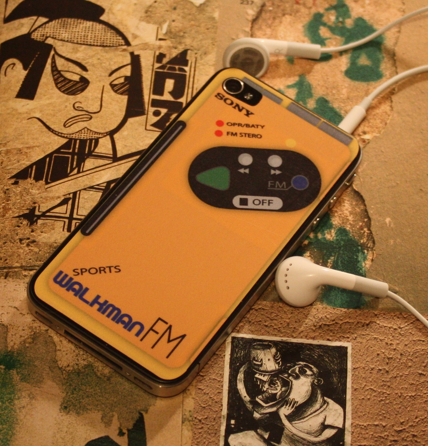 Don't Let The Sony Walkman Die – Freestyle Your iPhone 4!