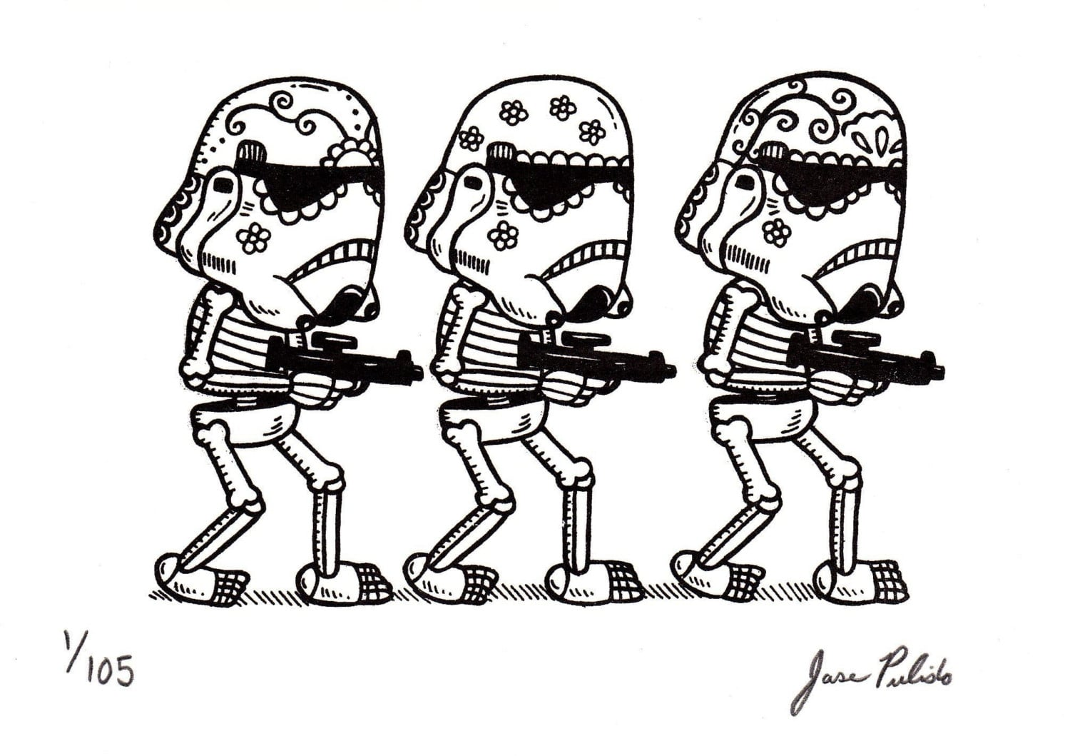 Star Wars In The Form Of Mexican Traditional Art   Bit Rebels