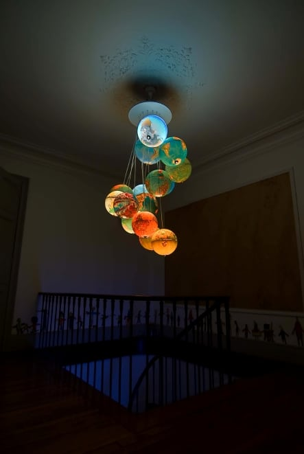 Table Globe Chandelier Finest Use Of Old Light Globes