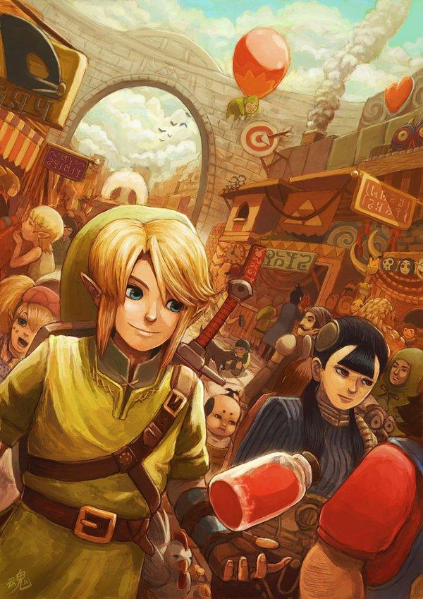 Zelda Art Like You've Always Wanted It To Look!