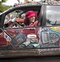 A Fashion Diva's Dream Car
