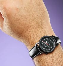 A LED Watch or a Watch with Prime Numbers? Take Your Pick!