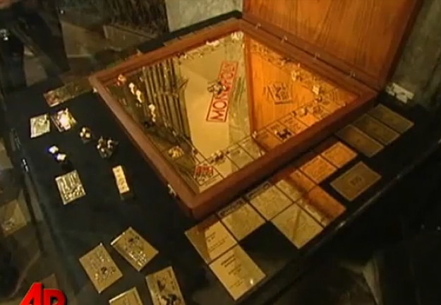 The Monopoly Game Made From Solid Gold | Bit Rebels