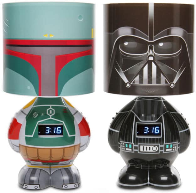 The Cool Way To Wake Up: Star Wars Lamp & Alarm Clock!