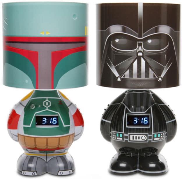 The Cool Way To Wake Up: Star Wars Lamp & Alarm Clock!