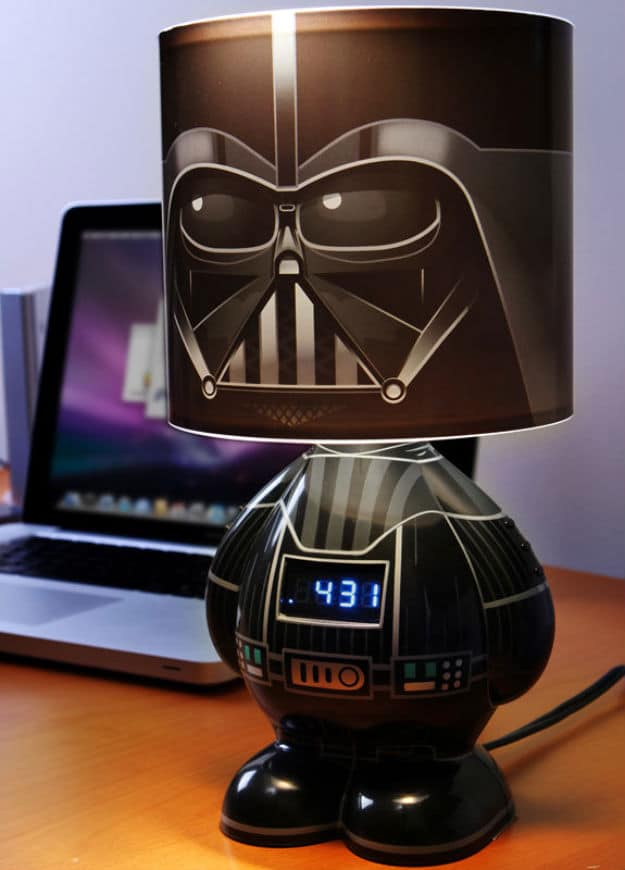 The Cool Way To Wake Up Star Wars Lamp Amp Alarm Clock