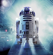A Steampunk R2-D2: He Ages Very Well!