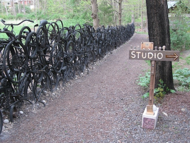 Bike Garden: Try Stealing These Bikes!