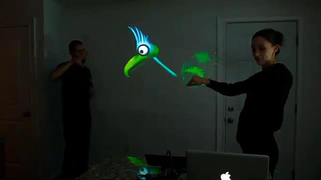 Kinect: Hacked To Let You Interact As A Puppeteer!