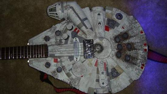 Now You Can Play A Solo On… The Millennium Falcon!