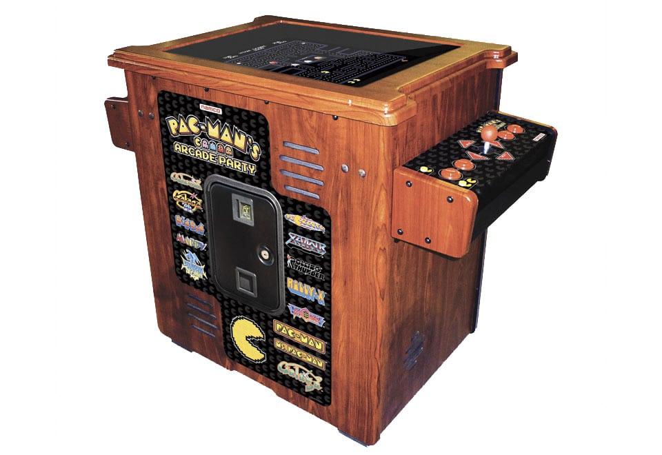 pacman arcade machine cocktail table