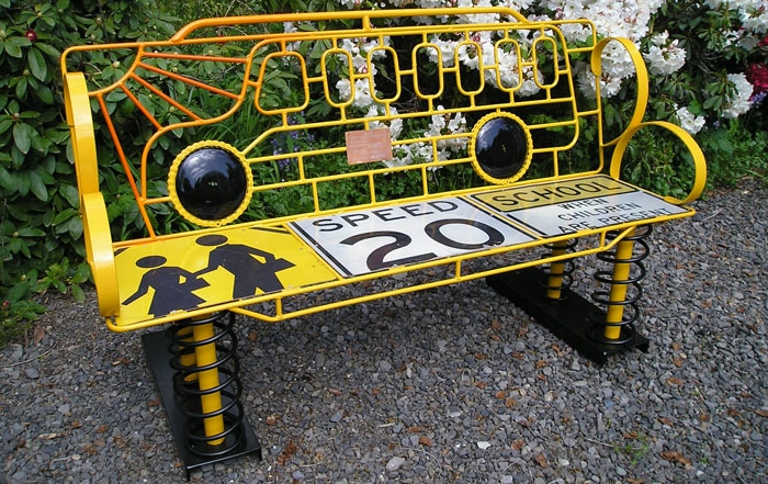 These Fantastically Creative School Benches Will Make You