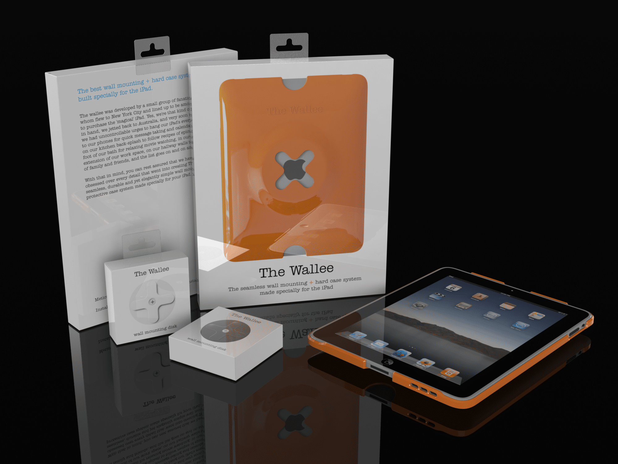 Wallee The First Stylish Wall Mount For Your Ipad Bit