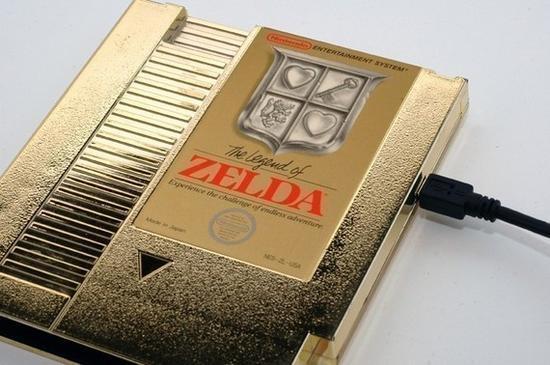 Zelda NES Cartridge: Turned Into A 1TB External Hard Drive!