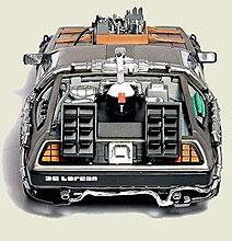 Geek Alert: The Back To The Future Delorean Hard Drive!