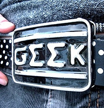 Funky Cool Belt Buckles Made From License Plates