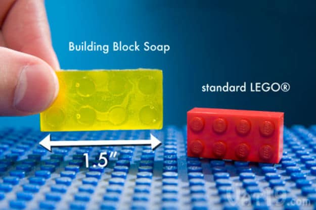 Building Block Soap: A Fun Way To Wash Our Hands!