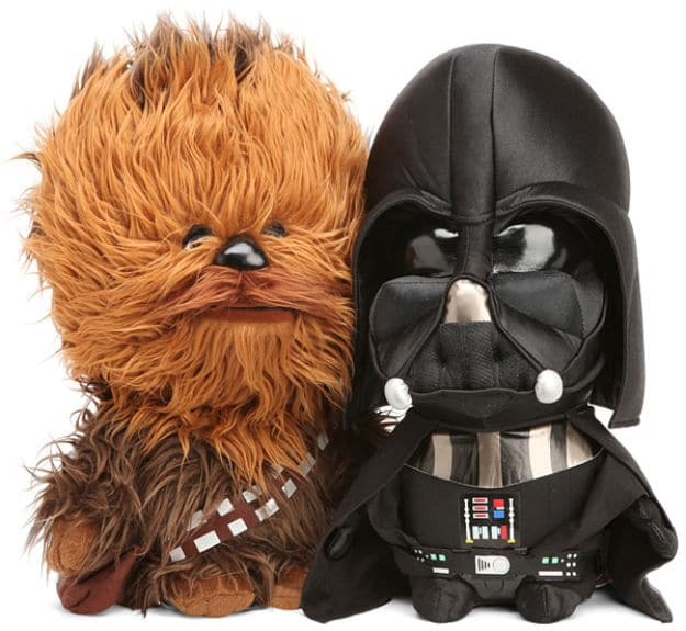 A Guilty Pleasure for Geeks: The Star Wars Plush Toy!