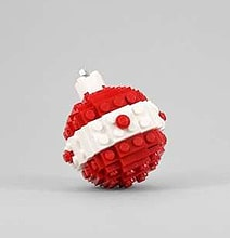 For Geeks That Love The Holidays: DIY Lego Ornaments
