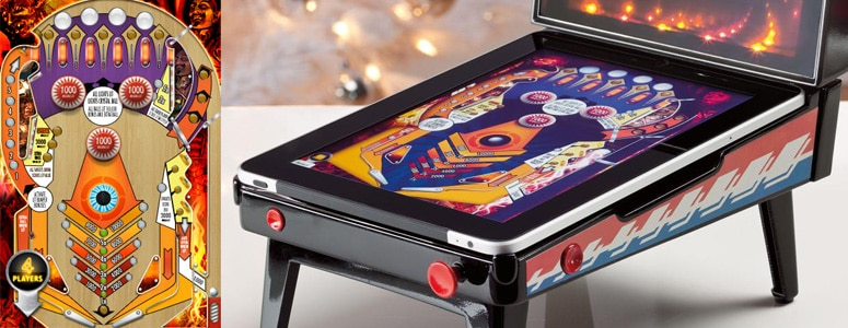 Arcade Pinball: Drool Worthy iPad Pinball Emulator Accessory