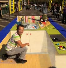 IKEA Creates 3D Chalk Art In Sydney
