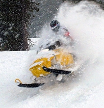 iSnow: A Snowmobile Inspired by Apple