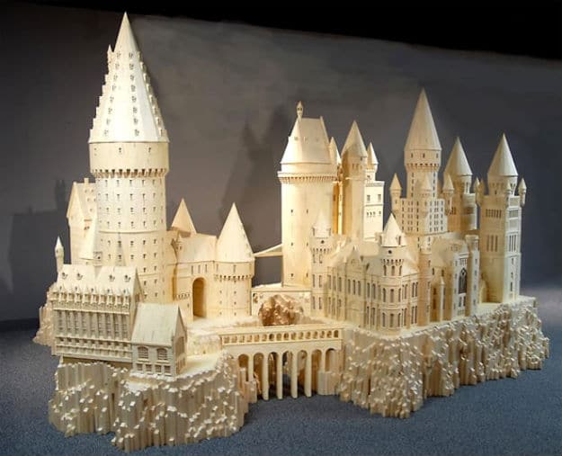 Cities Made With Over 420,000 Match Sticks