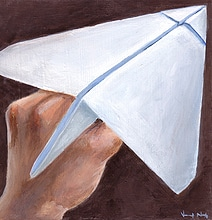 The Geeks Way To Fly A Paper Airplane