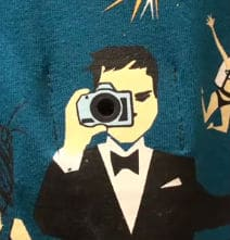 Check Out The Electronic Spy Camera On A Shirt!