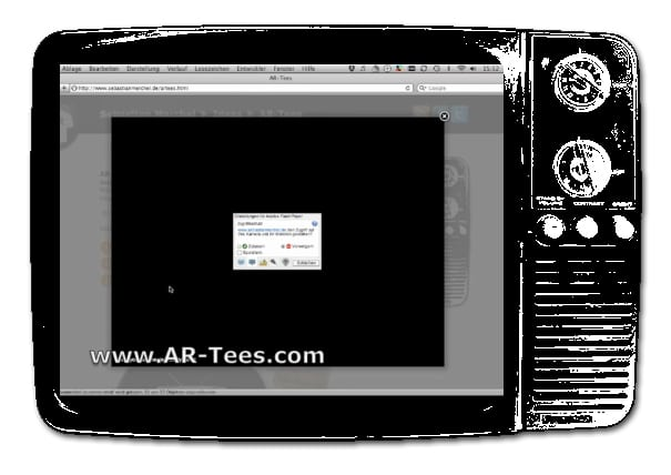 AR-Tees: Augmented TV Reality On Your T-Shirt