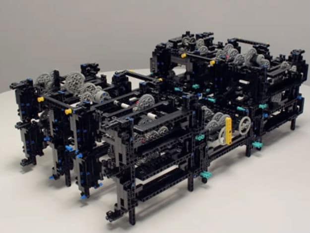 The Oldest Computer Recreated with LEGO