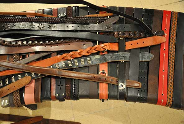 Belt Bench: Here's What You Do With 1,000 Old Belts…