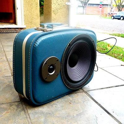 Boomcase Suitcases Recycled Into Awesome Portable