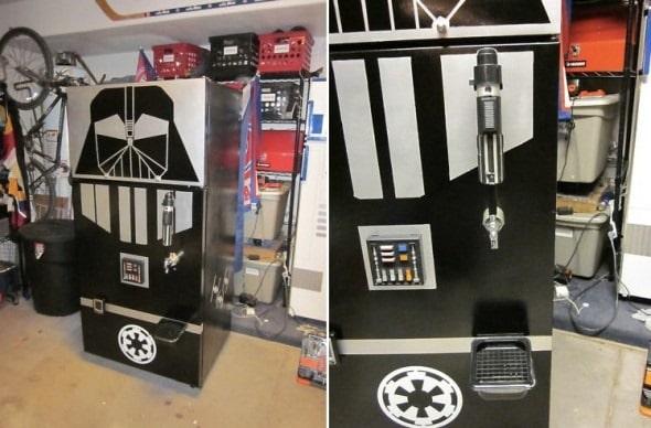 Star Wars Party Starter: Custom Made Darth Vader Beer Dispenser