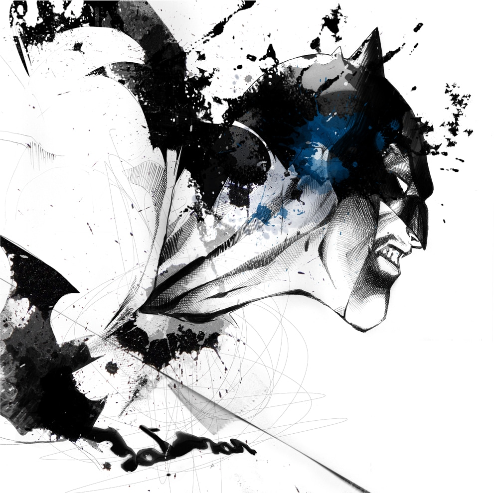 The Mesmerizing Art Of David Despau: Batman, Superman, Etc.