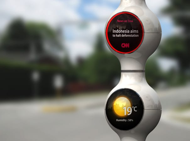 Droplet Traffic Light: Social Networking In Your Traffic Lights!