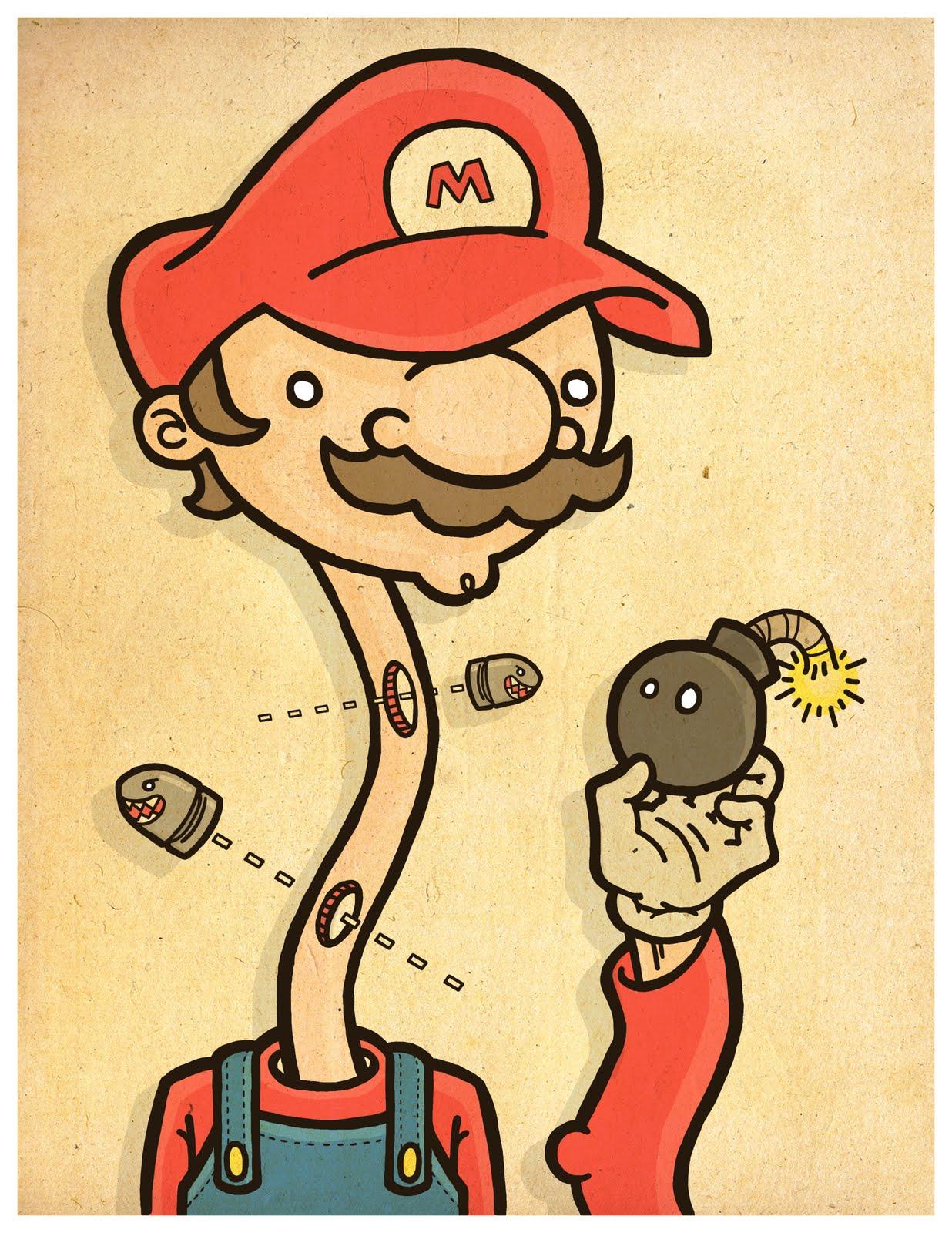 Odd Creations: Super Mario And Link In The Same Predicament
