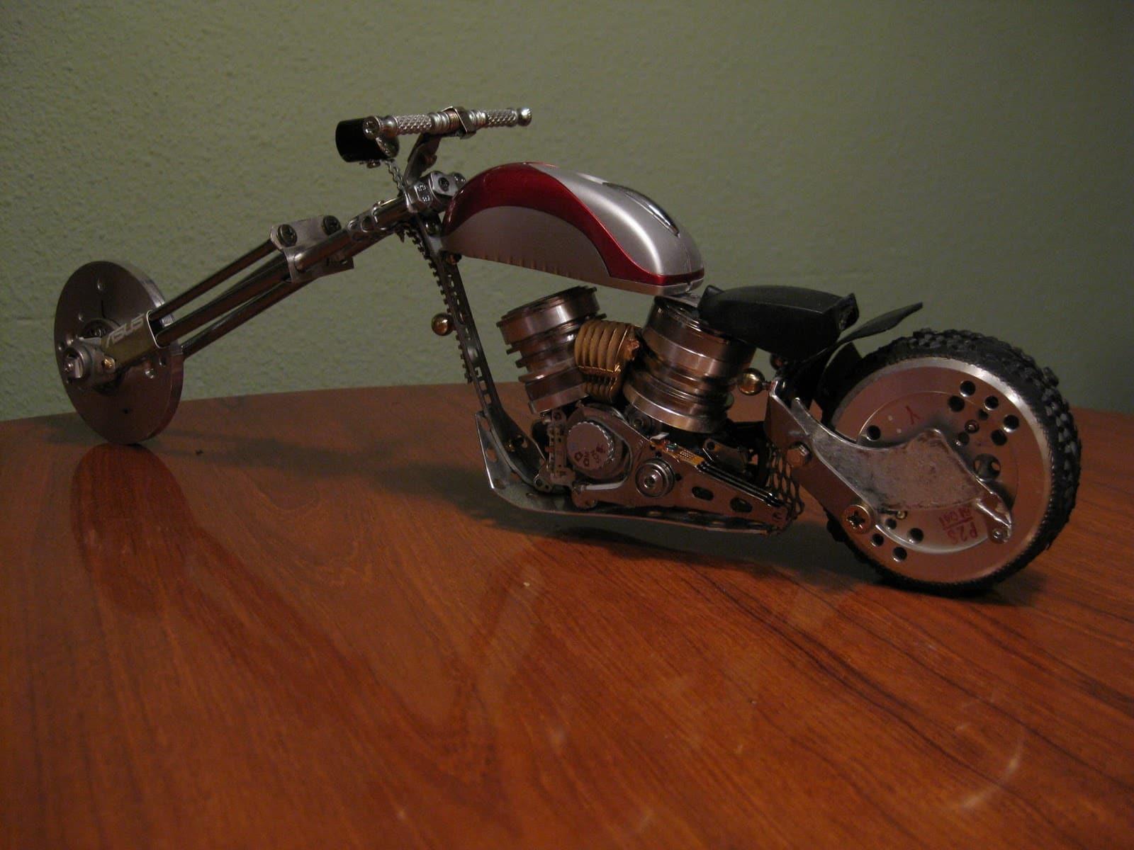 Как своим руками сделать мотоцикл 736
