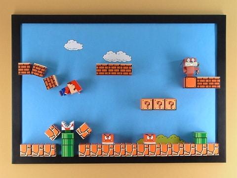 Tutorial Brilliant 3d Super Mario Magnet Board Bit Rebels