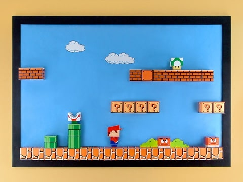 Tutorial: Brilliant 3D Super Mario Magnet Board