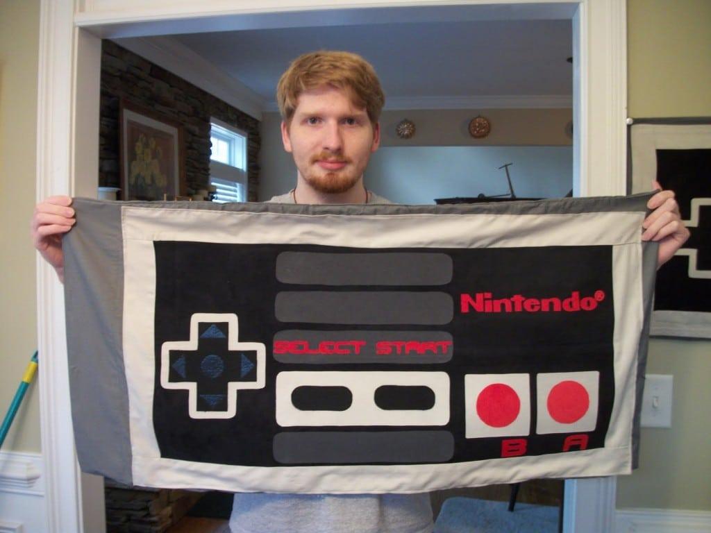 NES-Retro-Geek-Bed-Sheets