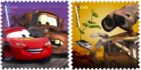 Pixar Movie Characters To Grace Postage Stamps In 2011!