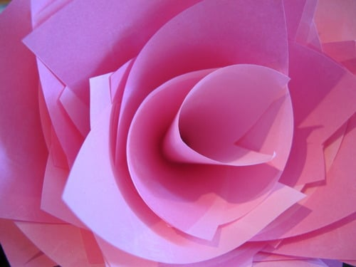 A Post-It Rose Says More Than Any Words Written On It!