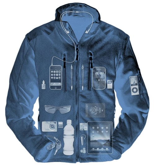 iPad Wear: Compatible Jacket For Carrying Your iPad